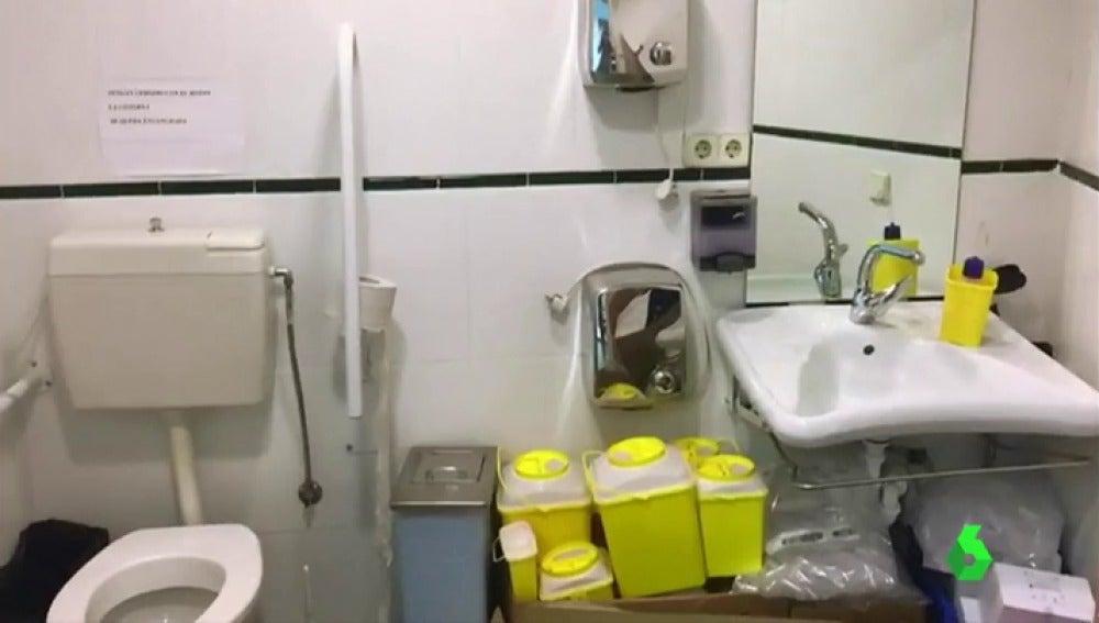 LA SEXTA TV | Material médico en los baños, temperaturas extremas y ...
