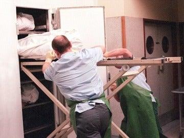 Los restos embalsamados han estado en una morgue durante más de 10 años