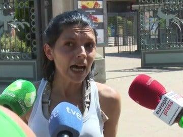 Una testigo del accidente en el Parque de Atracciones de Madrid