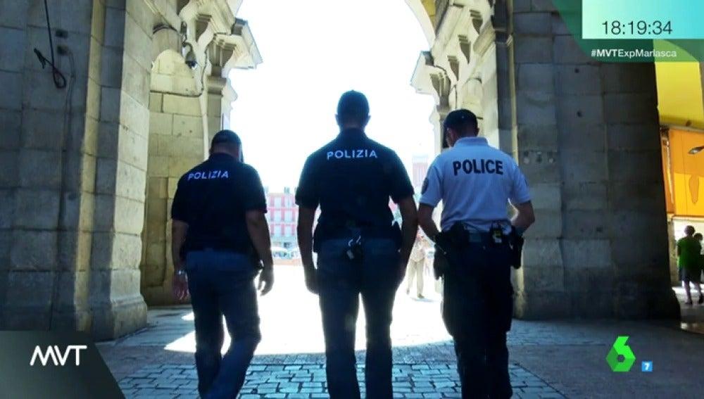 Así es el 'Erasmus policial': agentes extranjeros patrullarán las calles españolas durante todo el verano