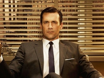 Don Draper, protagonista de la serie Mad Men.