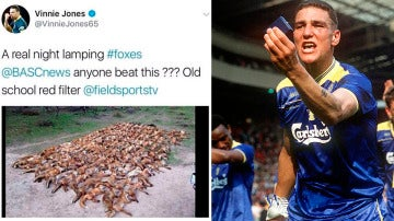 Polémica por un supuesto tuit de Vinnie Jones