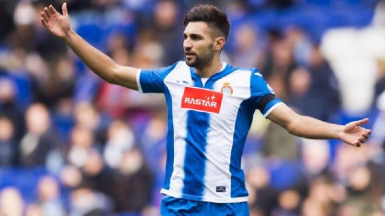 Marc Navarro, lateral derecho del Espanyol