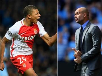 Mbappé y Guardiola