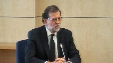 Mariano Rajoy declarando en el juicio del caso Gürtel