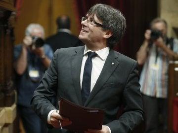 Carles Puigdemont, president de la Generalitat