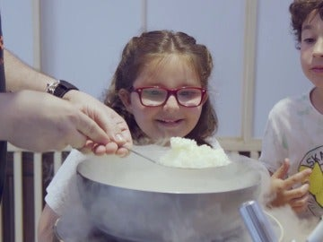 Palomitas con nitrógeno en El Comidista TV