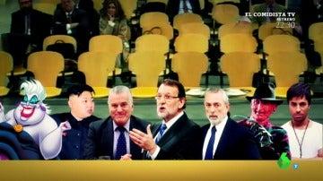 Rajoy rodeado de malos en el juicio de la Gürtel