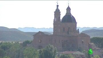 El monasterio de Santa Fe de Aragón, saqueado y abandonado