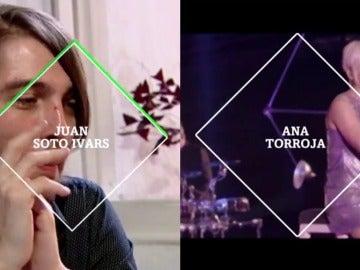 Juan Soto Ivars y Ana Torroja en laSexta Noche