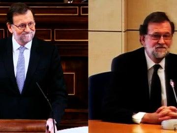 Rajoy en el Congreso y en la Audiencia