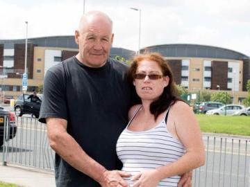 La pareja que ha logrado salvar a su bebé