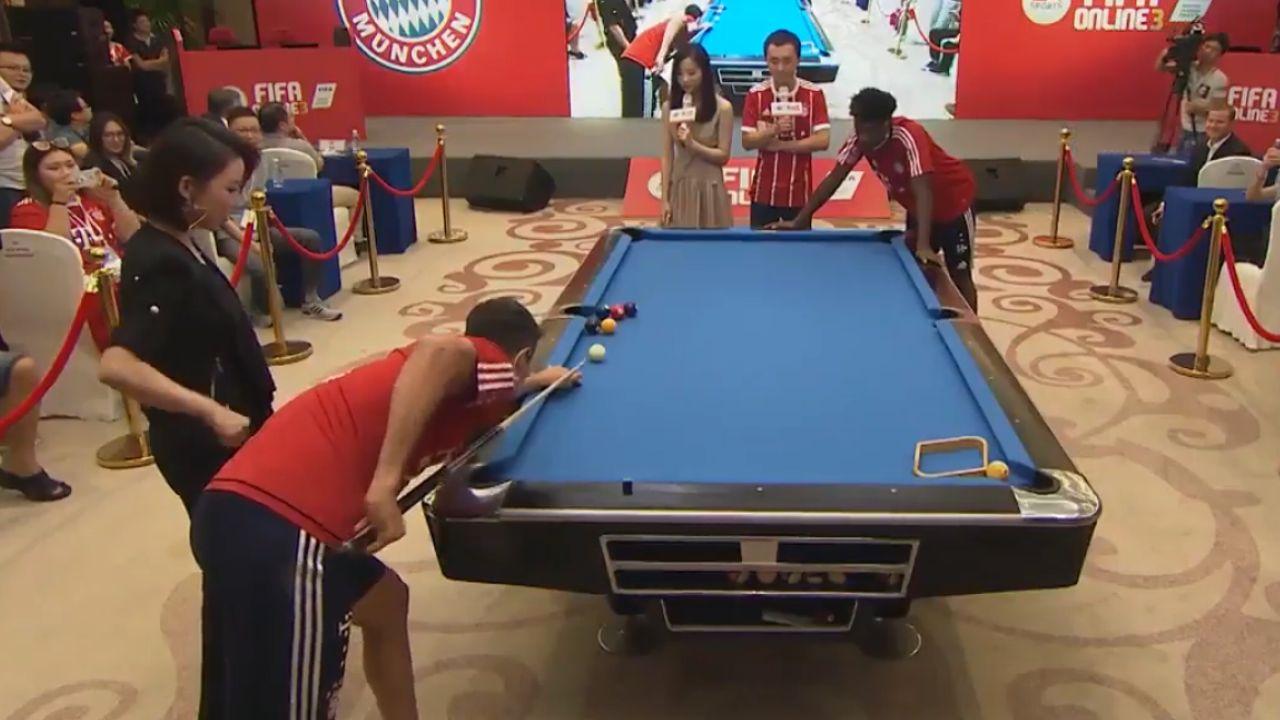 Lewandowski demostrando su habilidad