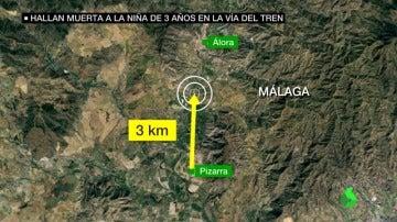 La Guardia Civil baraja la muerte accidental de Lucía: la niña anduvo tres kilómetros, se durmió y un tren la golpeó