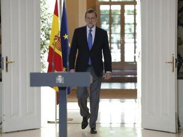 Mariano Rajoy hace balance del curso político