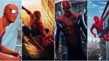 Los trajes de Spiderman desde 1977 hasta 2017