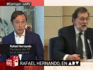 Rafael Hernando en ARV