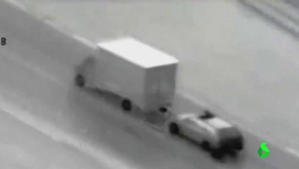 Detienen en Madrid a una banda por robar camiones asaltándolos en marcha