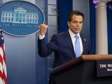 El director de comunicación de la Casa Blanca, Anthony Scaramucci
