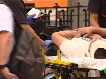 """Los pasajeros accidentados en el tren de Barcelona relatan cómo han vivido el impacto: """"He sentido como una explosión del choque"""""""