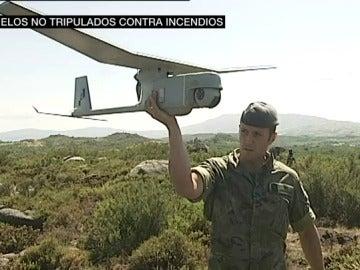 Drones contra incendios