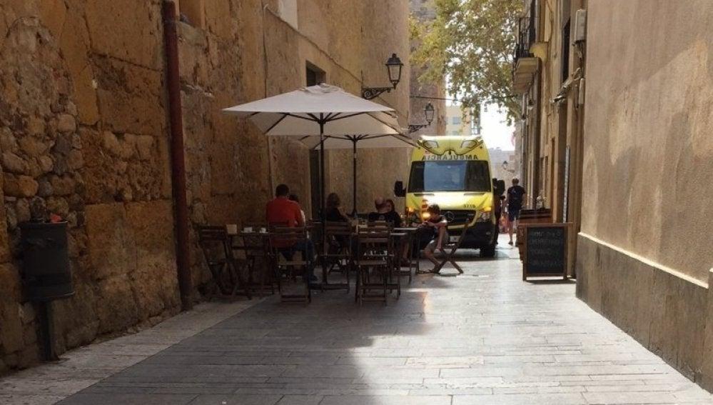 Una ambulancia de Zaragoza