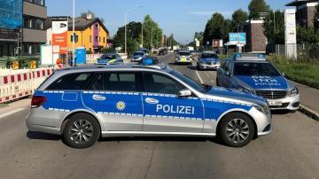 Imagen de archivo de un coche de la Policía alemana
