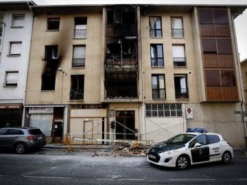 Un muerto y ocho heridos en una explosión de gas en Puente La Reina (Navarra)
