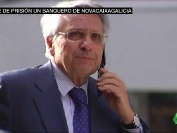 Julio Fernández Gayoso, ex presidente de Novacaixagalicia, saldrá de la cárcel después de medio año en prisión