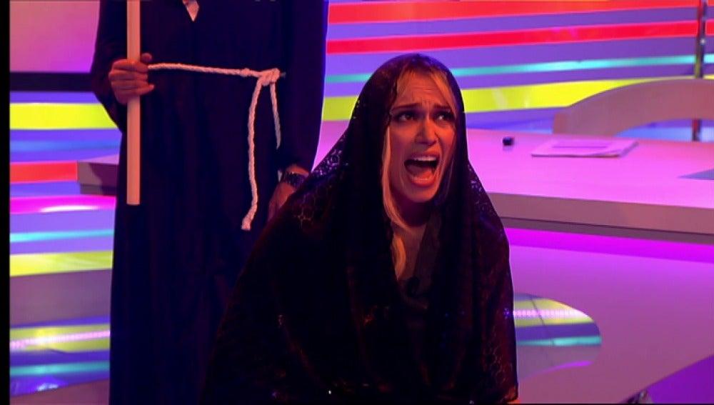 Patricia Conde cantando una saeta