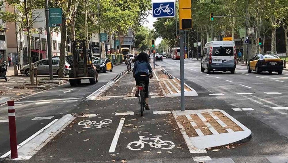 Las personas que van en bicicleta al trabajo tienen menos riesgo de padecer estres