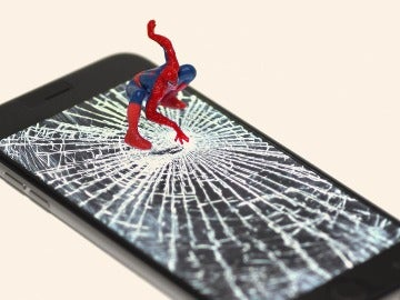 Pantalla como red de Spiderman