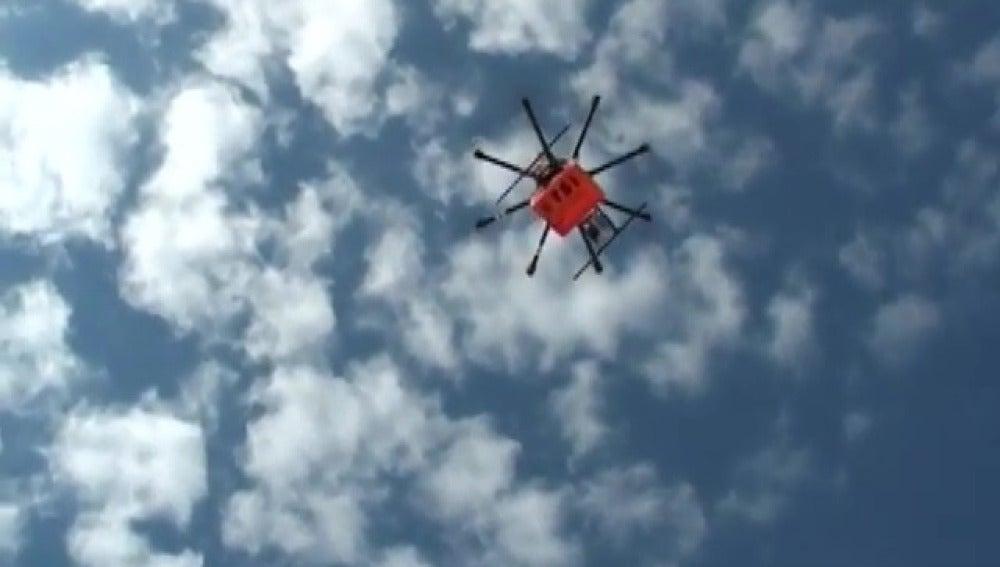 Drones para luchar contra las enfermedades contagiosas