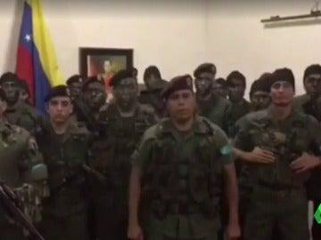 Los diez sublevados de Venezuela