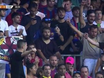 """Parte de la grada del Camp Nou gritó """"Neymar, muérete"""" en el trofeo Joan Gamper"""