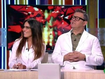 Lorena Castell y Miki Nadal hacen de psicólogos