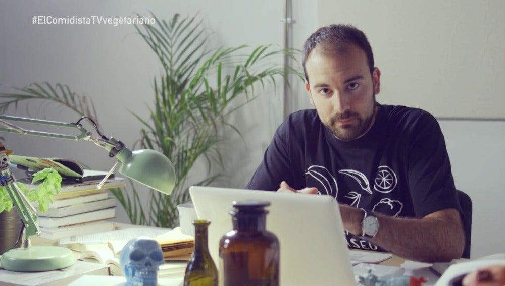Aitor Sánchez, el nutricionista indignado