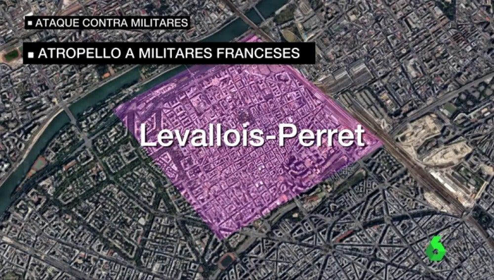 """Cronología del ataque al dispositivo antiterrorista francés en París: """"A cinco metros aceleró para atropellarles"""""""