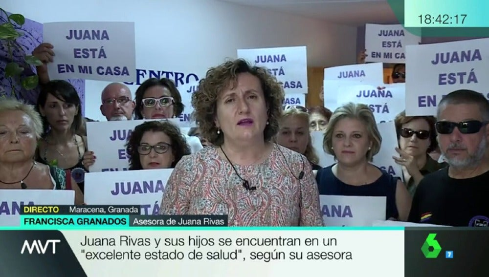 """Granados, sobre Juana Rivas: """"La jueza sabe que existen episodios de violencia, pero no le consta que afecte a los menores"""""""