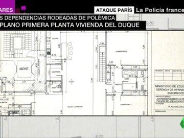 Las polémicas dependencias del duque del Infantado en Guadalajara: un piso de lujo pagado con dinero público