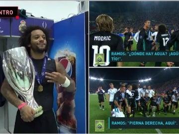 La fiesta del Real Madrid tras ganar la Supercopa