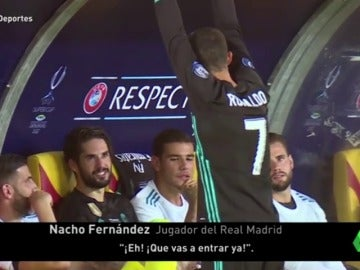 Cristiano, puro nervio en el banquillo: así vivió la Supercopa de Europa