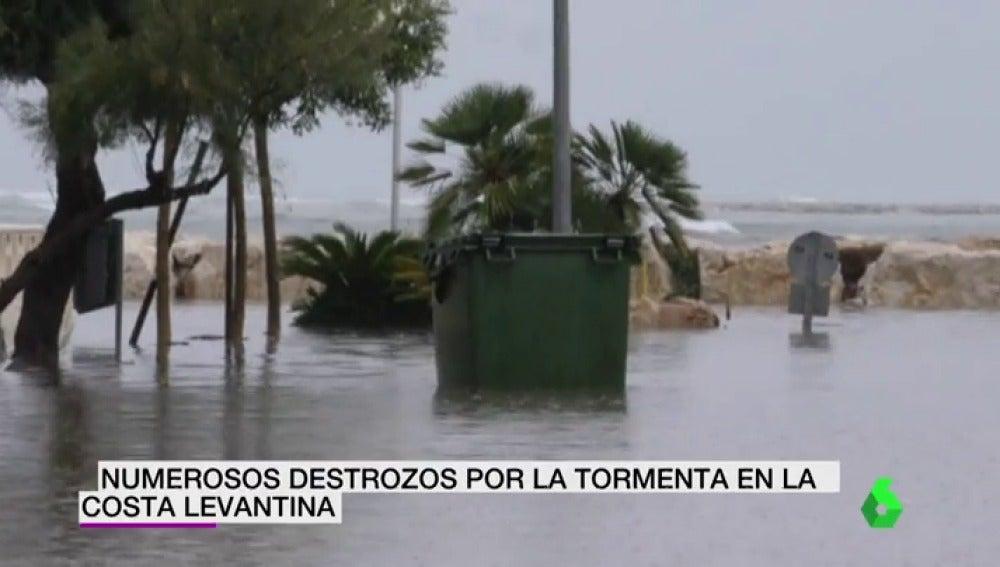 Fuertes tormentas e inundaciones mantienen en alerta a gran parte de provincias del Mediterráneo