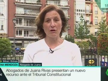 """Almudena Mendoza, abogada: """"Lo que Juana Rivas necesita que se acabe este periplo jurídico"""""""