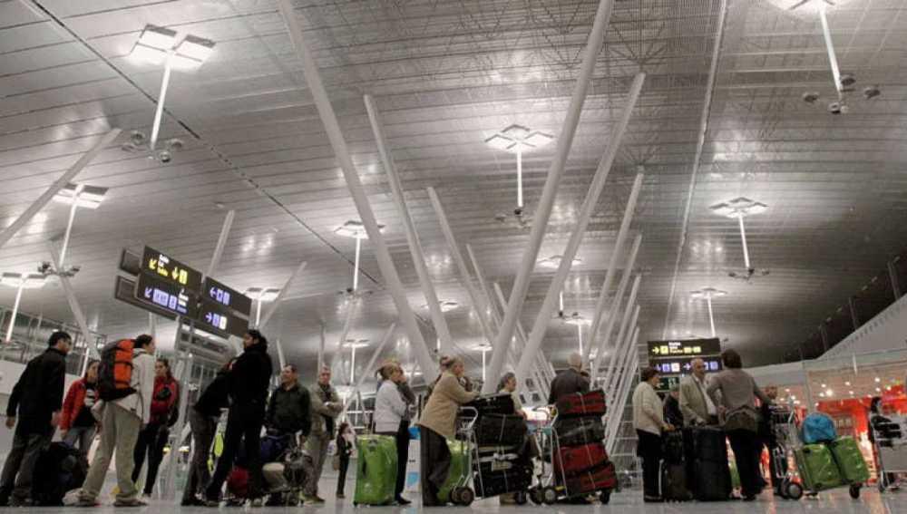 Imagen de archivo del Aeropuerto de Santiago de Compostela