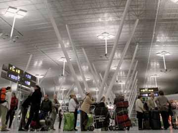 Imagen del Aeropuerto de Santiago de Compostela