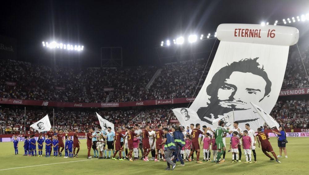 En el homenaje a Antonio Puerta