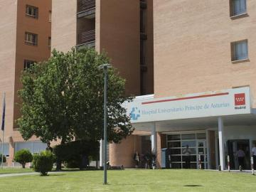 Fachada del hospital Universitario de Alcalá
