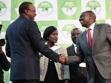 Uhuru Kenyatta, anunciado como ganador de las elecciones