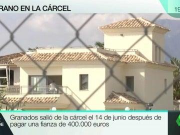La casa de Granados en Marbella embargadas por la justicia